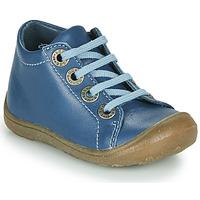 Cipők Gyerek Magas szárú edzőcipők Little Mary GOOD ! Kék
