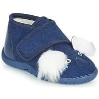 Cipők Gyerek Mamuszok Little Mary KOALAVELCRO Kék