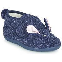 Cipők Gyerek Mamuszok Little Mary LAPINVELCRO Kék