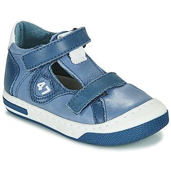 Cipők Fiú Rövid szárú edzőcipők Little Mary LORENZO Kék