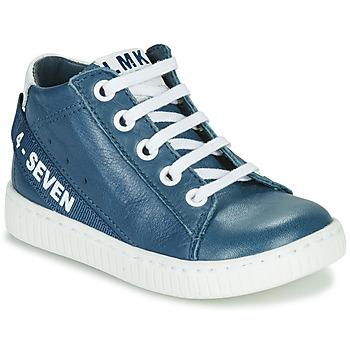 Cipők Fiú Magas szárú edzőcipők Little Mary LUCKY Kék
