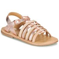 Cipők Lány Szandálok / Saruk Little Mary BARBADE Rózsaszín