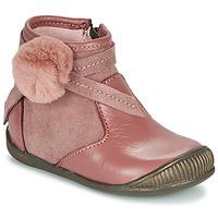 Cipők Lány Csizmák Little Mary FRANCOISE Rózsaszín