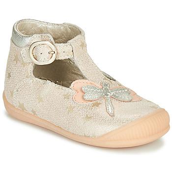 Cipők Lány Szandálok / Saruk Little Mary GLYCINE Bőrszínű