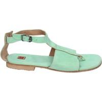 Cipők Női Szandálok / Saruk Moma BK89 Zöld