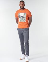Ruhák Férfi Chino nadrágok / Carrot nadrágok Jack & Jones JJIMARCO Szürke