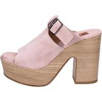 Cipők Női Szandálok / Saruk Moma BK100 Rózsaszín