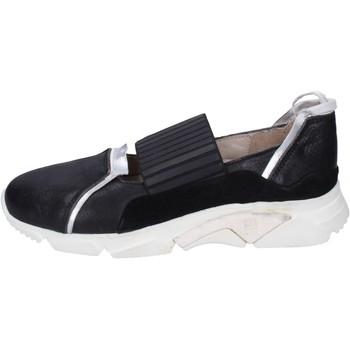Cipők Női Belebújós cipők Moma BK123 Fekete