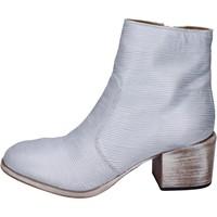 Cipők Női Bokacsizmák Moma BK147 Ezüst
