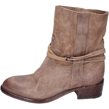 Cipők Női Bokacsizmák Moma BK169 Bézs