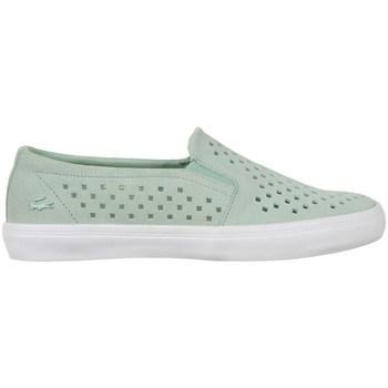 Cipők Női Belebújós cipők Lacoste Gazon Slip ON 216 1 Caw Zielone