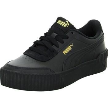 Cipők Férfi Rövid szárú edzőcipők Puma Carina Lift Fekete