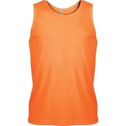 Ruhák Férfi Trikók / Ujjatlan pólók Proact Débardeur  Sport orange