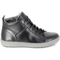 Cipők Férfi Magas szárú edzőcipők Jana Sneaker 25202 Noir Fekete