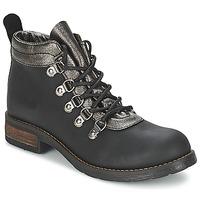 Cipők Női Csizmák Casual Attitude MIZATTE Fekete