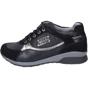 Cipők Lány Divat edzőcipők Miss Sixty BK182 Fekete