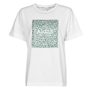 Ruhák Női Rövid ujjú pólók Aigle RAOPTELIB Fehér