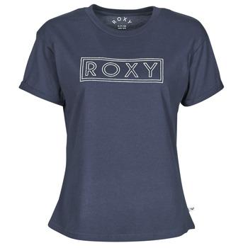 Ruhák Női Rövid ujjú pólók Roxy EPIC AFTERNOON WORD Tengerész