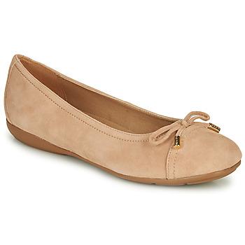 Cipők Női Balerina cipők  Geox D ANNYTAH Rózsaszín