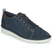 Cipők Férfi Rövid szárú edzőcipők Geox U DAYAN Kék