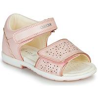 Cipők Lány Szandálok / Saruk Geox B VERRED Rózsaszín