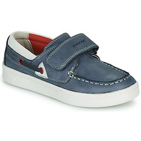 Cipők Gyerek Mokkaszínek Geox DJROCK GARCON Kék