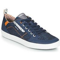 Cipők Fiú Rövid szárú edzőcipők Geox JR KILWI GARÇON Kék