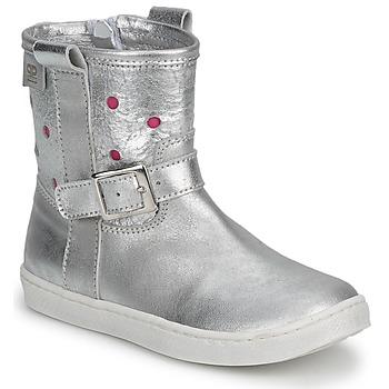 Cipők Lány Csizmák Pinocchio  Ezüst / FUKSZIA