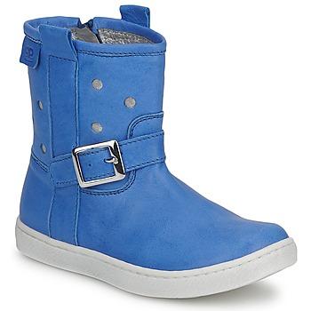 Cipők Lány Csizmák Pinocchio RABIDA Kék