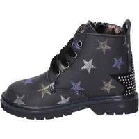 Cipők Lány Bokacsizmák Asso BK218 Fekete