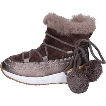Cipők Lány Bokacsizmák Asso BK220 Bézs