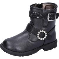 Cipők Lány Bokacsizmák Asso BK221 Fekete