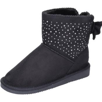 Cipők Lány Bokacsizmák Asso BK232 Fekete