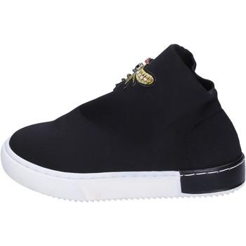 Cipők Lány Divat edzőcipők Joli sneakers tessuto Nero