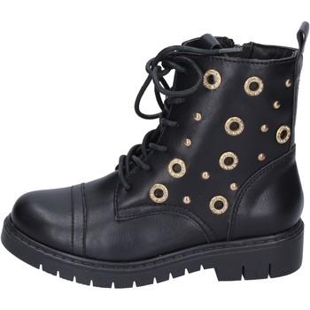 Cipők Lány Bokacsizmák Joli Bokacsizma BK242 Fekete