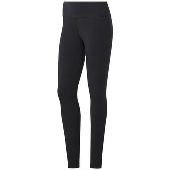 Ruhák Női Legging-ek Reebok Sport TE Cotton Legging Fekete