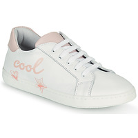 Cipők Lány Rövid szárú edzőcipők GBB EDONIA Fehér