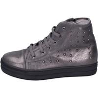 Cipők Lány Magas szárú edzőcipők Eb BK246 Szürke