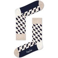 Kiegészítők Férfi Zoknik Happy Socks Filled optic sock Sokszínű