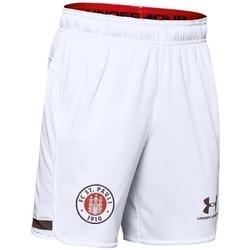 Ruhák Fiú Rövidnadrágok Under Armour JR FC ST Pauli Replica Białe