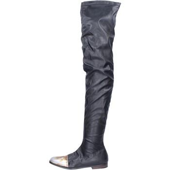Cipők Női Csizmák Moma BK302 Fekete