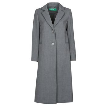 Ruhák Női Kabátok Benetton  Szürke