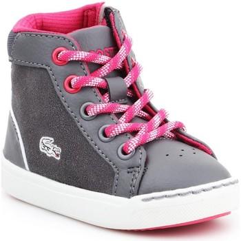 Cipők Gyerek Magas szárú edzőcipők Lacoste Explorateur 7-32CAI1001248 szary