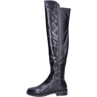 Cipők Női Csizmák Elvio Zanon BK374 Fekete