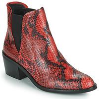 Cipők Női Csizmák Fericelli NIAOW Fekete  / Piros