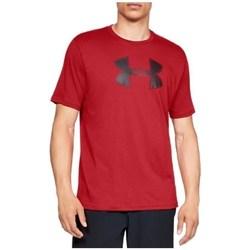 Ruhák Férfi Rövid ujjú pólók Under Armour Big Logo SS Tee Piros