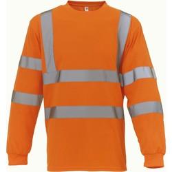 Ruhák Hosszú ujjú pólók Yoko T-Shirt manches longues  Haute Visibilité orange