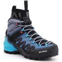 Cipők Női Túracipők Salewa WS Wildfire Edge MID GTX 61351-8975 granatowy, szary, czarny