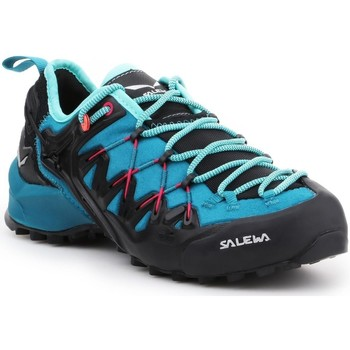 Cipők Női Túracipők Salewa WS Wildfire Edge 61347-8736 czarny, niebieski