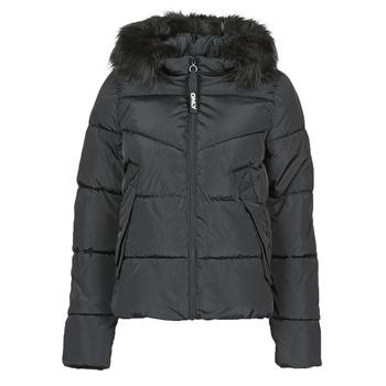 Ruhák Női Steppelt kabátok Only ONLMONICA Fekete